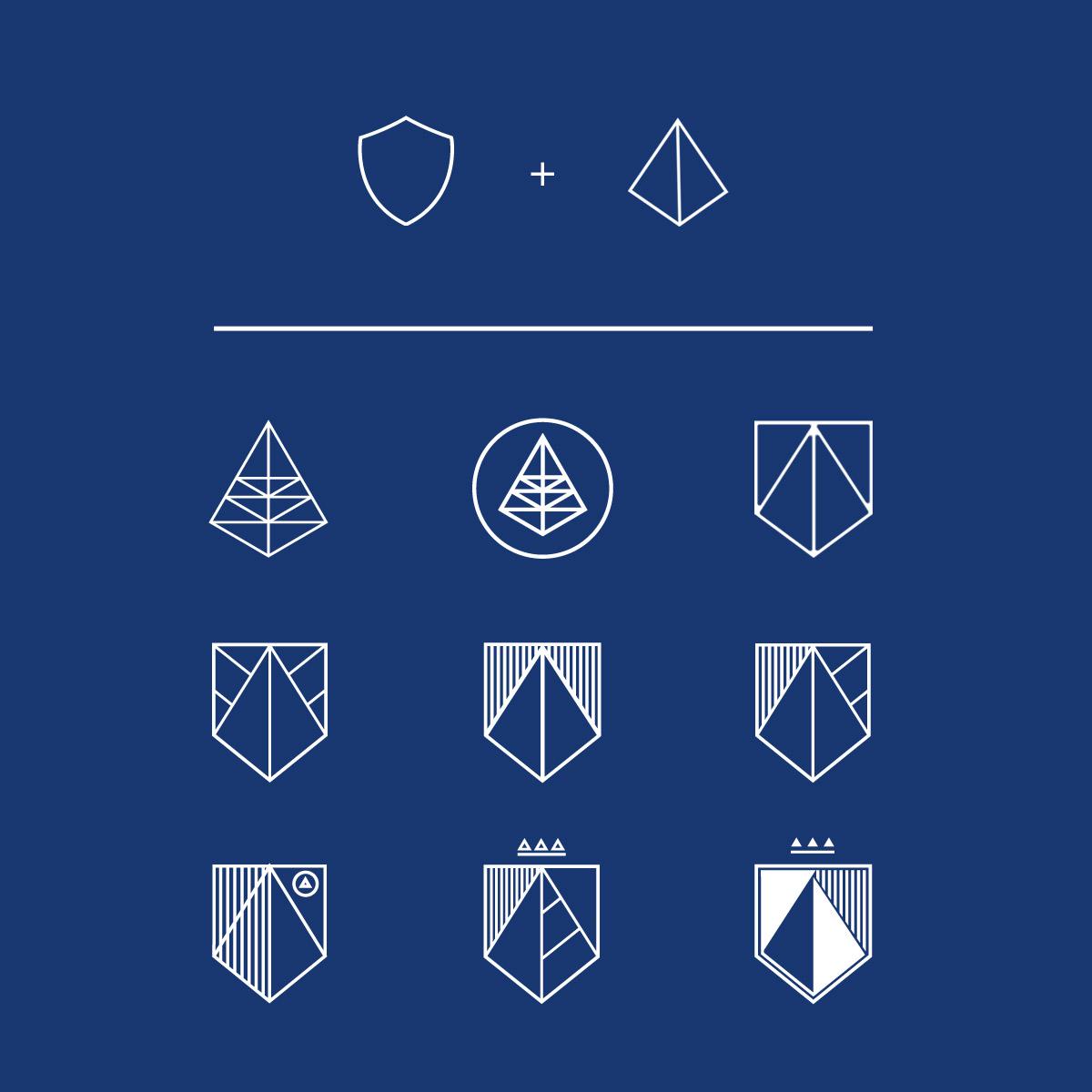 Konzept und Idee Logodesign Fidentia - IPR Consulting Establishment