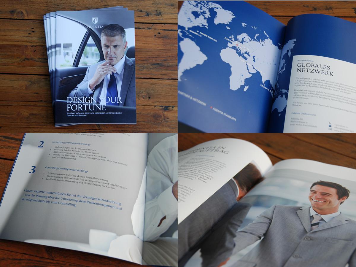 Unternehmensbroschüre der Fidentia AG - IPR Consulting Establishment