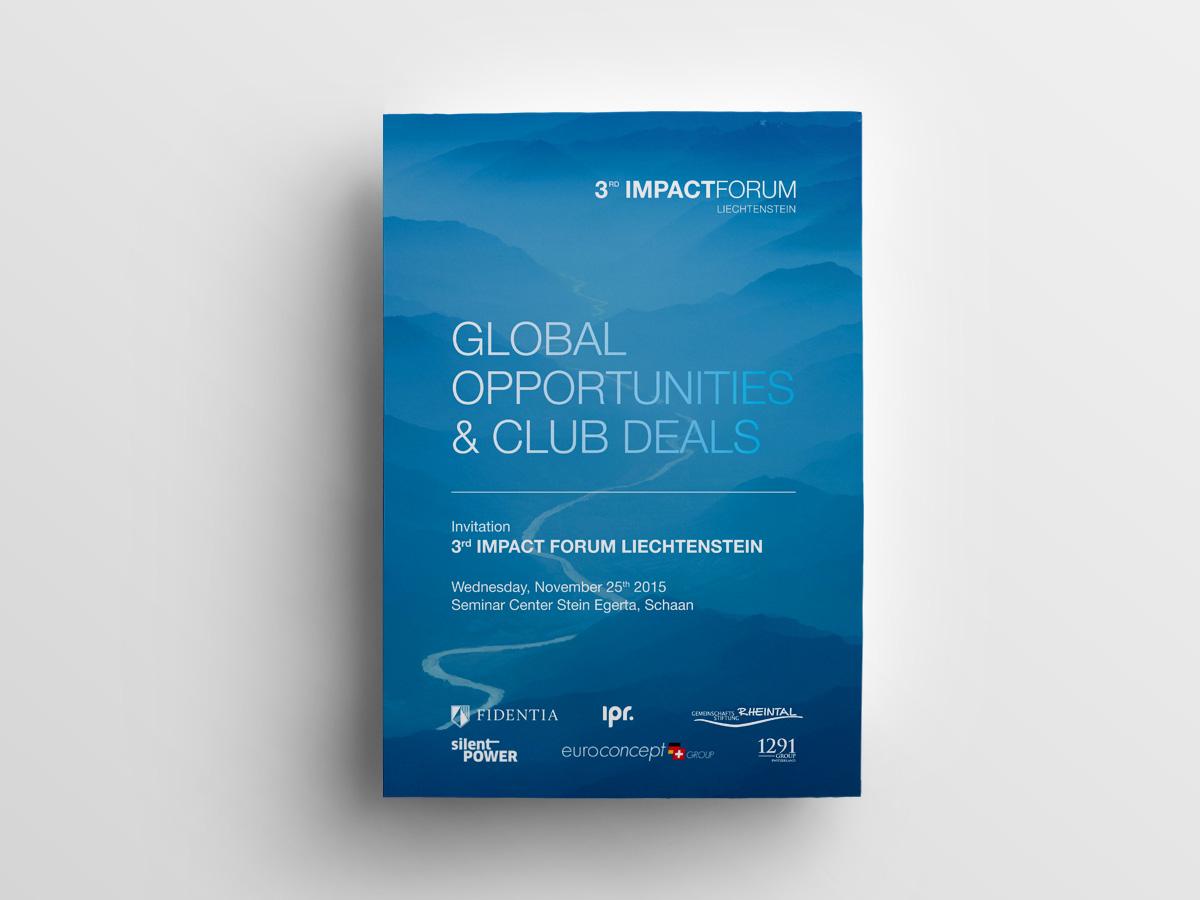Sujet 3rd Impact Forum Liechtenstein - IPR Consulting Establishment